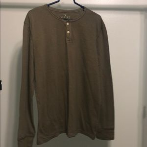 American Eagle Outfitters Army Green Long Sleeve